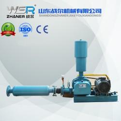 河南WSR-100曝气用罗茨鼓风机