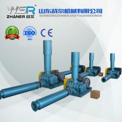 河南WSR-125曝气用罗茨鼓风机